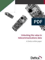 Unlocking the Value in Telecom Data (BI)