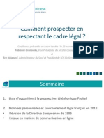 Comment prospecter en respectant le cadre legal ?