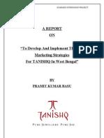 Project on Tanishq