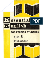 FOREIGN 1967 Essential.english.for.Foreign.students Book.1 256p
