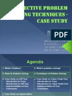7528323 Problem Solving Techniques Case Study