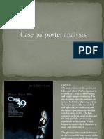 Case 39' poster analysis
