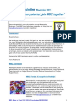 MBC Newsletter 01-11-2011