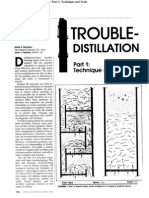 Distillation Column Troubleshooting Part I