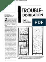 Distillation Column Troubleshooting Part I