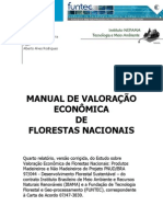 Manual de Valoracao Das Florestas Nacionais