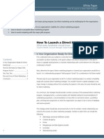 How to Launch a Direct Mail Program