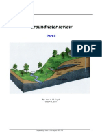 Groundwater Part II
