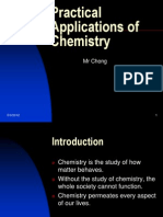 Practical Applications of Chemistry
