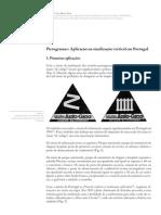 Pictogramas Aplicação na sinalização vertical em Portugal