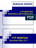 FYP Briefing May 2011