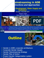 ADB Strategic Directions and Approaches