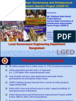 Second Urban Governance and Infrastructure Improvement (Sector) Project (UGIIP-II)