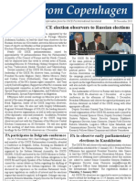 OSCE PA President Petros Efthymiou leads OSCE election observers to Russian elections