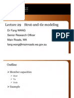 Lecture 29 Strut Tie Modeling Example FW 18Oct
