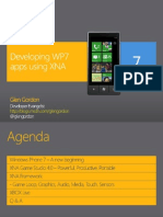 Developing WP7 apps using XNA
