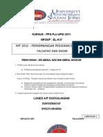 KPF 3012 Refleksi 1-10,Esei Ilmiah,Forum