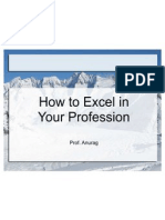 How to Excel in Your Profession