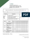 Grelha de Observação Teste Diagnóstico 5º Ano EVT