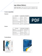 Photoshop Release Versions History