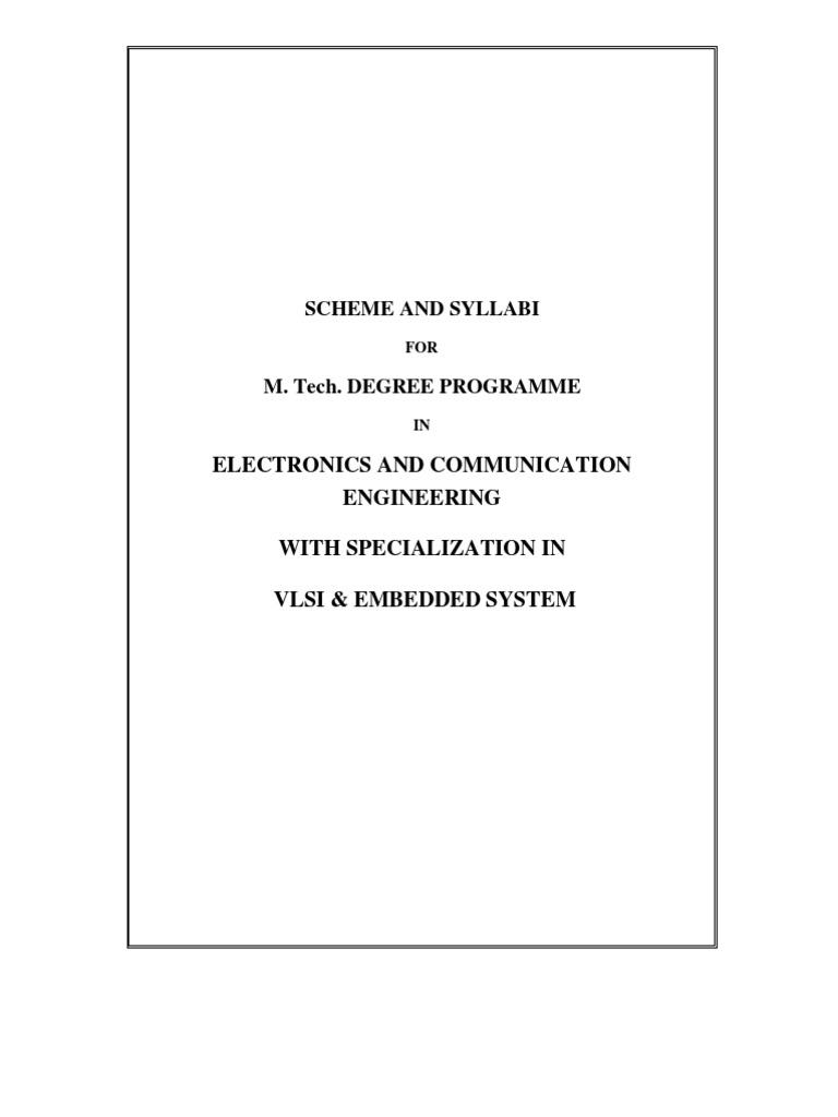 Embedded System | Custom PHD Thesis