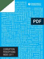 Korruptionsindex 2011 Transparency International