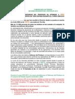 Informe Defensor Del Profesor 2011