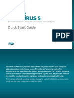 Eset Eav 5 Quick Start Guide Enu