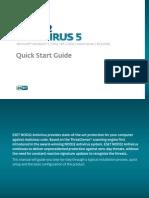 Eset Eav 5 Quick Start Guide Enu