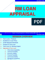 Term Loan Appraisal