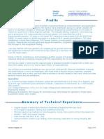 D Hegarty E I Tech Officer CV Norway