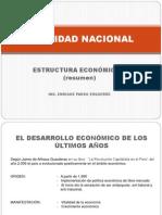 Resumen de La Estructura Economica