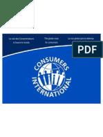 Искуствата на глобалните организации на потрошувачите ISO 26000