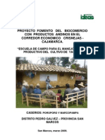 Informe Escuelas de campo - Yacón
