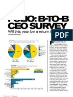 2011_B-To-B CEO Survey - Publishers