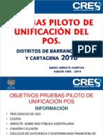 Prueba piloto de unificación del POS