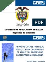 Retos de La CRES Frente Al SGSSS