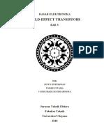 Field Effect Transistors