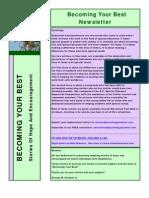 Becoming Your Best Newsletter - October/November 2011