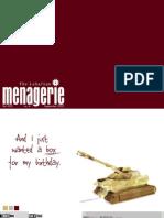 Menagerie (September 2005)