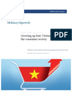 Vietnam Discovers the Consumer Society