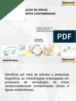 apresentação TRABALHO GESTÃO AMBIENTAL