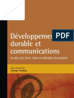 Developpement Durable Et Communication