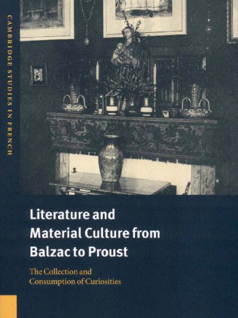 Literature and material culture from balzac to proust 0521661560 literature and material culture from balzac to proust 0521661560 museum retail fandeluxe Gallery