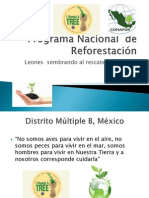 Programa Nacional de Reforestacion