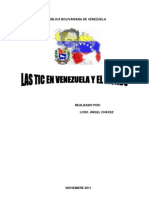 Las Tics en Venezuela y el Mundo