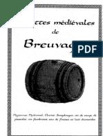 Breuvages médiévaux