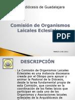 Presentación Comisión de Organismos Laicales Eclesiales