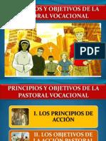 Principios y Objetivos de La Pastoral Vocacional