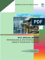 Questões Metodológicas e Técnicas da Transferência de Tecnologia